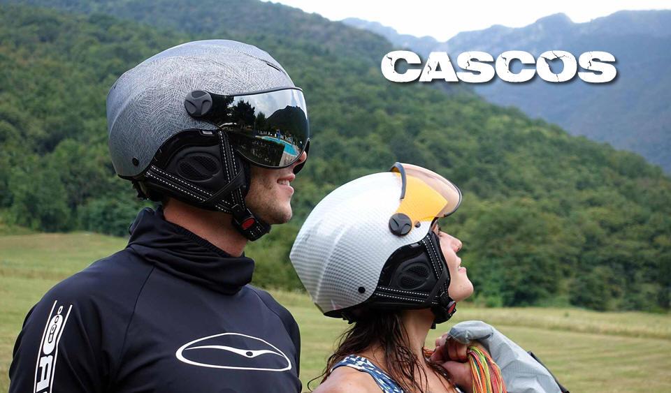 AMPLIA GAMA DE CASCOS