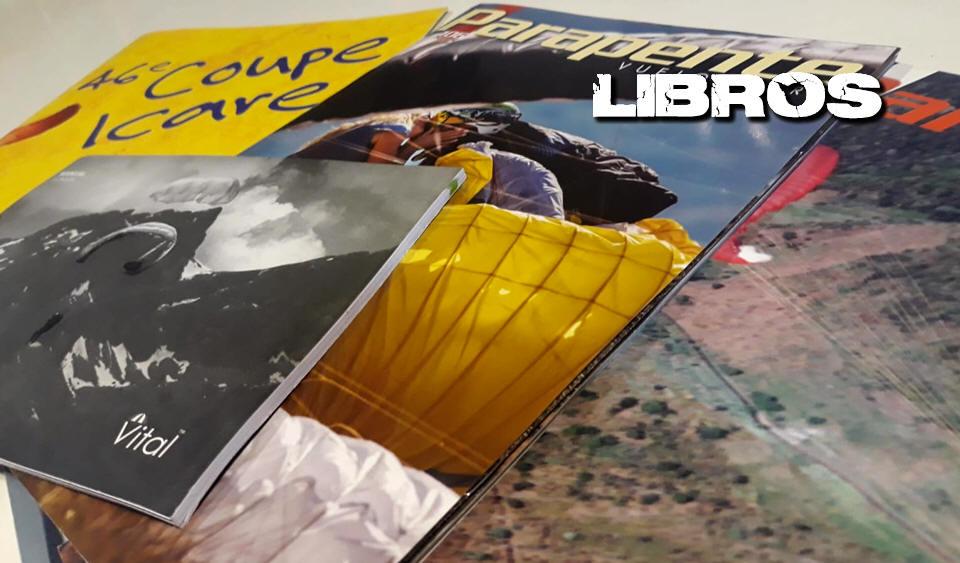 LIBROS Y REVISTAS DE PARAPENTE Y PARAMOTOR