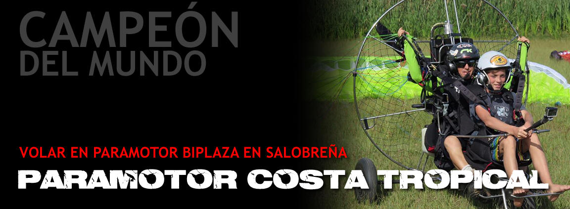 PARAMOTOR COSTA TROPICAL